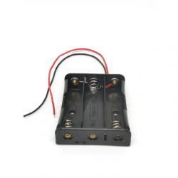 Battery holder for 3 * 18650