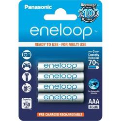4 AAA Eneloop - 750mAh, karbis