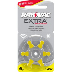 6 Rayovac Extra Advanced 10...