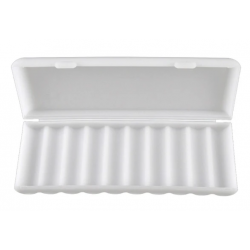 10x 18650 battery case (white)