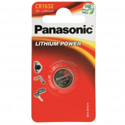 Panasonic CR1632, 3v
